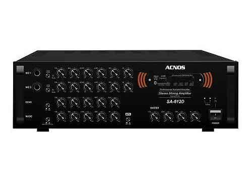 Amply Acnos SA-612D, âm ly chuyên dùng hát karaoke