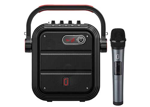 Loa bluetooth JYX MS65BT, loa karaoke mini, bass nén