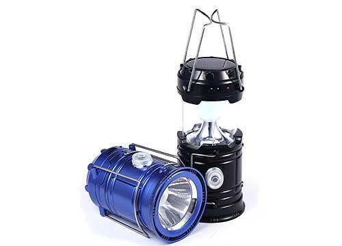 Đèn Bão Cắm Trại Năng Lượng Mặt Trời T5800