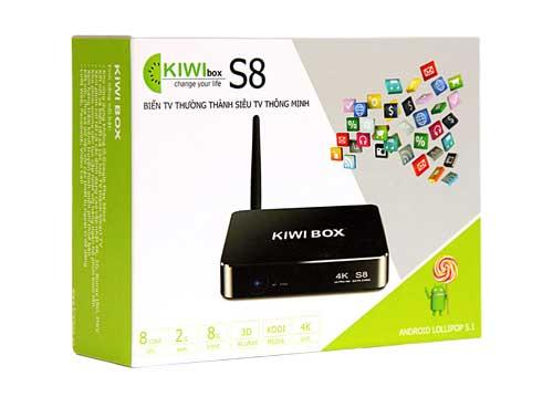 Kiwibox S8 Thiết Bị Biến Tivi Thường Thành Smart Tivi