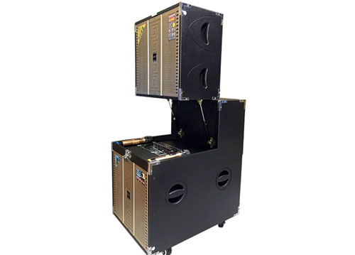 Loa array di động T-789, dàn loa karaoke cao cấp, max 800W