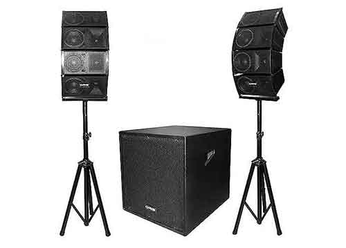 Loa Array ORIS TO7700, âm thanh sân khấu, bộ khuếch đại 400W