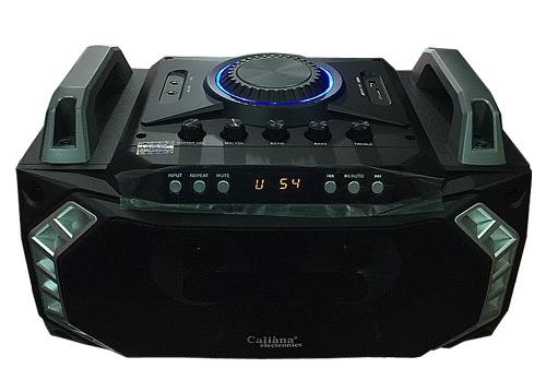 Loa bluetooth, karaoke Caliana CS66 kèm 1 mic, công suất max 250W