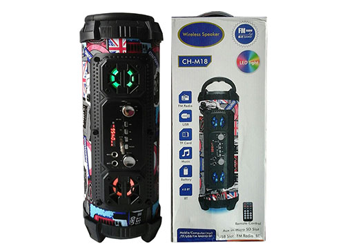 Loa bluetooth - karaoke CH-M18