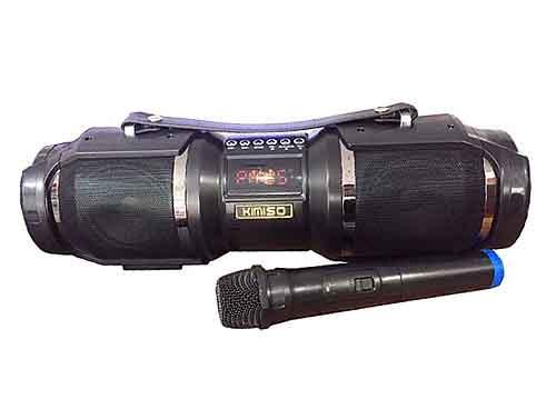 Loa bluetooth karaoke KIMISO T1S, kèm 01 micro không dây