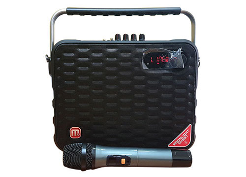 Loa bluetooth karaoke Malata Y6 M+9001B kèm 1 mic không dây