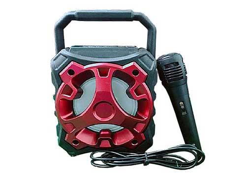 Loa bluetooth karaoke mini KTS-996, kèm 1 mic dây, công suất 20W