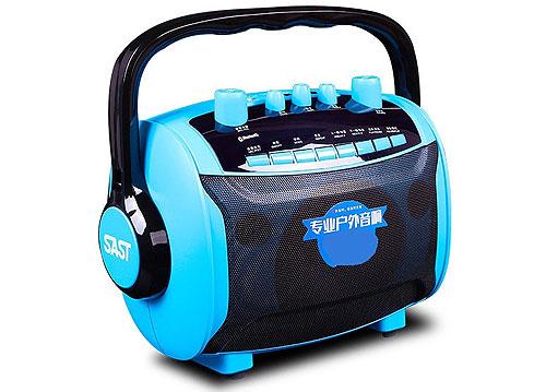 Loa bluetooth karaoke SAST SA-870S, kèm 1 mic không dây