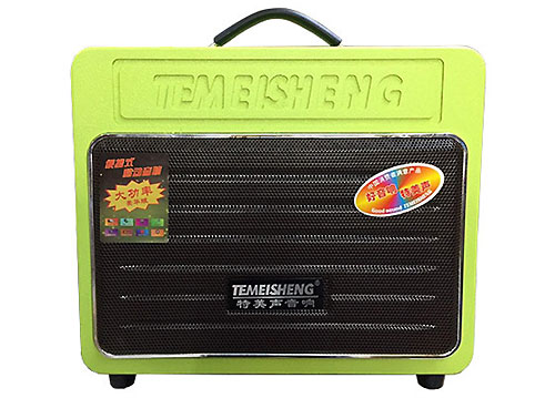 Loa bluetooth karaoke Temeisheng GD06-09, kèm mic không dây