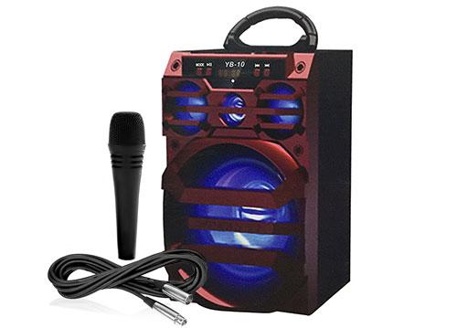 Loa bluetooth, karaoke YB-10 kèm micro