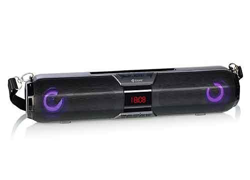 Loa Bluetooth Kisonli LED-900, có dây đeo vai, RMS 20W