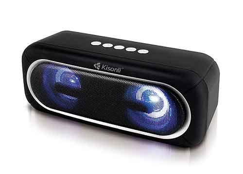 Loa Bluetooth Kisonli S5, âm thanh trung thực, RMS 10W