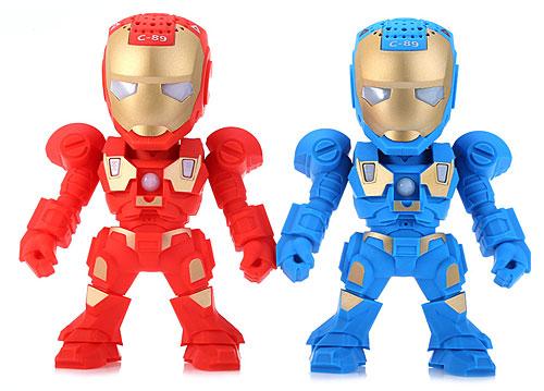 Loa bluetooth mini C-89 Iron Man