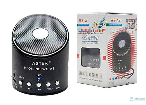 Loa bluetooth mini WSTER WS-A9