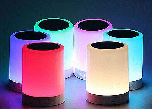 Loa bluetooth mini YM-388 đèn led 7 màu