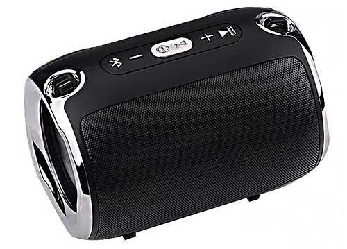 Loa bluetooth S518, loa nghe nhạc mini với âm thanh stereo 3D