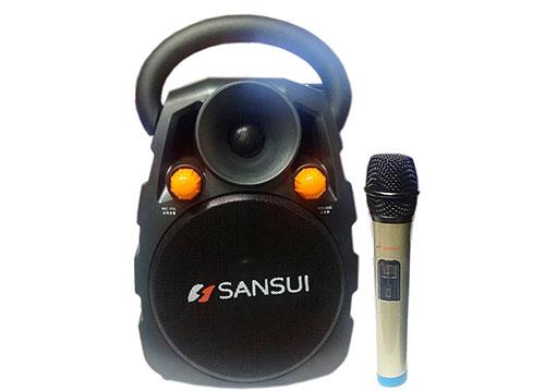 Loa bluetooth - trợ giảng - karaoke Sansui SS3-06