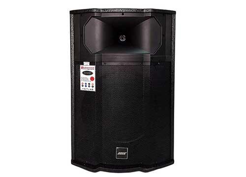 Loa di động Bose AV-910 pro, loa kéo karaoke thùng gỗ, PMPO 3000W
