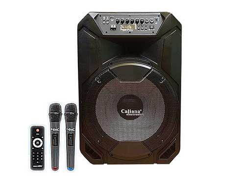 Loa di động Caliana TN15C, loa kéo karaoke, công suất tối đa 600W