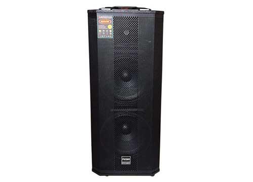 Loa di động Forzen F212Q, loa hát karaoke bass đôi 3.5 tấc