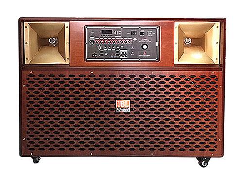 Loa di động JBL-3800, loa hát karaoke vỏ gỗ, đỉnh 1500W