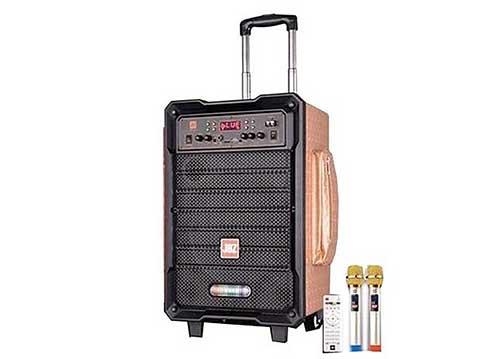 Loa di động JBZ JB+0805, loa kéo karaoke mini, công suất max 150W