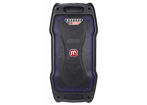 Loa di động Malata M+9820Y, loa hát karaoke 2 bass 1.5 tấc
