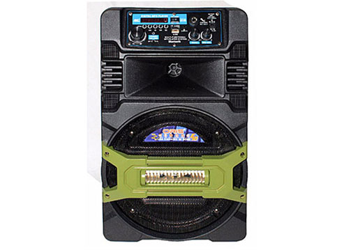 Loa di động Oris F10, loa kéo karaoke 2.5 tấc, kèm 1 mic