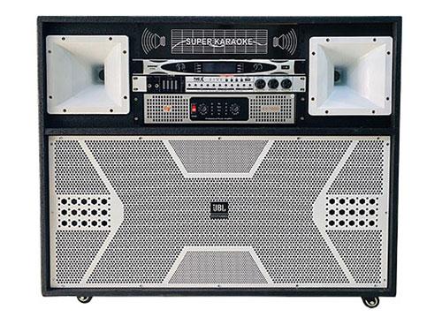 Loa điện di động T-469, loa hát karaoke cao cấp, max 1400W
