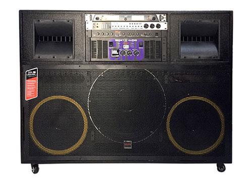 Loa điện di động U-6200, dàn âm thanh cao cấp, max 1600W