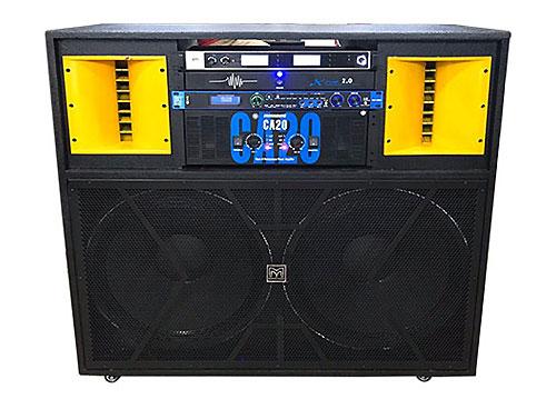 Loa điện JBL-9000, dàn loa công suất lớn, 2 bass 5 tấc