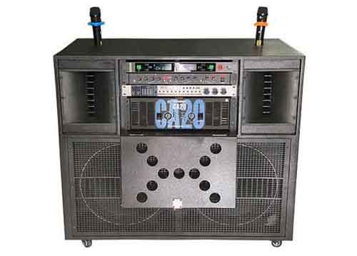 Loa điện karaoke di động T9200, công suất đỉnh 1200W
