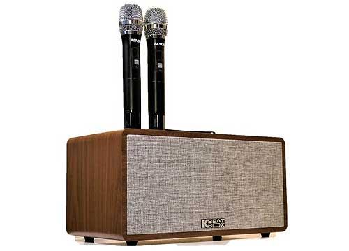 Loa karaoke ACNOS CS390, kèm chức năng ghi âm và livestream