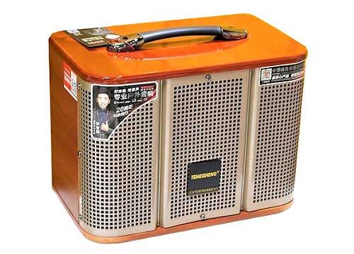 Loa karaoke blueotooth Temeisheng GD06-39, kèm 2 micro