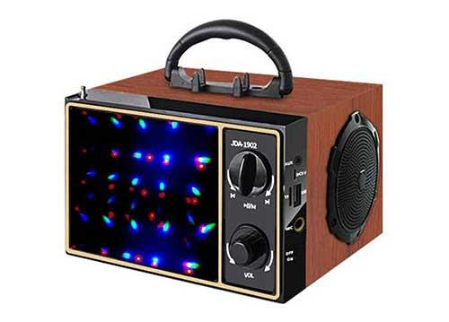 Loa karaoke bluetooth JDA 1902, kèm 1 micro, công suất 10W