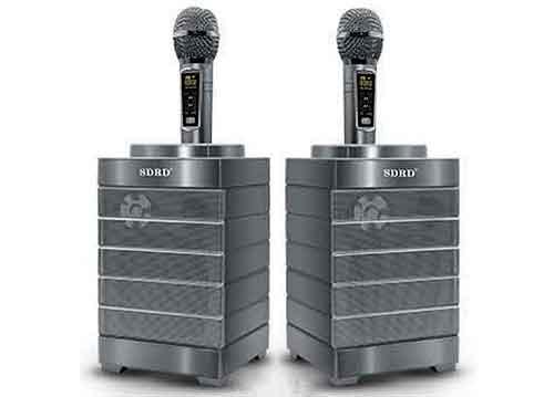 Loa karaoke bluetooth SDRD S128, bộ đôi loa đa năng, 30W
