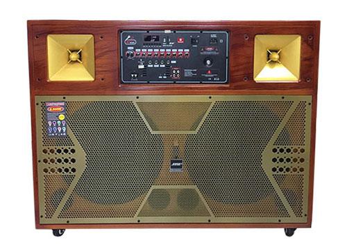 Loa karaoke di động M-3800, linh kiện nhập khẩu, ráp tại VN