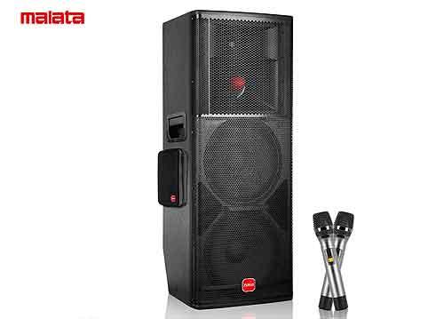 Loa karaoke di động Malata M+9873, 2 bass 4 tấc, max 1000W