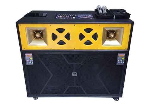 Loa karaoke di động T-82, loa công suất lớn, max 1400W