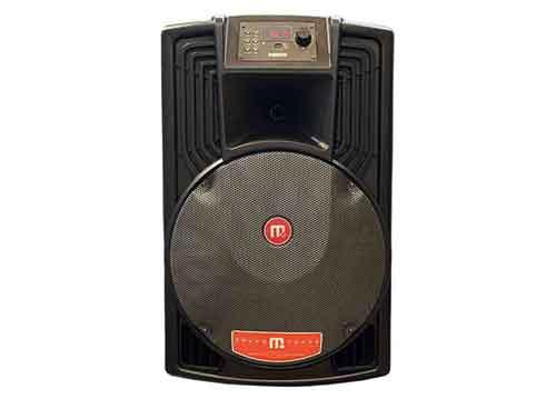 Loa karaoke Malata JD15 M+9023, loa kéo vỏ nhựa, bass 4 tấc