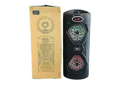 Loa karaoke mini FVO BS-233, kèm mic có dây, công suất 30W