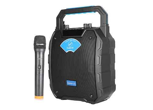 Loa karaoke mini Hamersh SL06-62, kèm 1 micro, công suất 30W