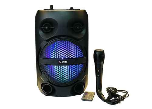 Loa karaoke mini KIMISO QS-611, có kèm theo 01 mic có dây