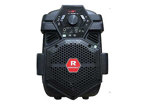 Loa karaoke mini Ronamax V6, loa xách tay 2.5 tấc, RMS 60W