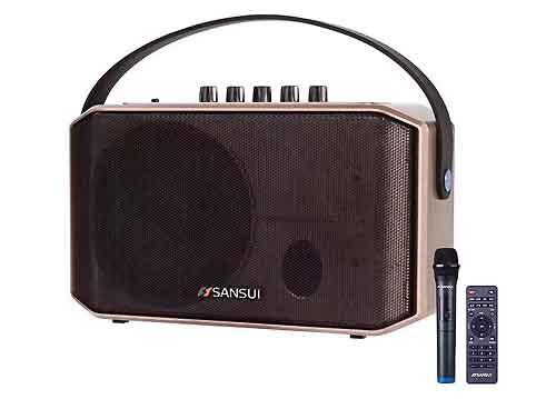 Loa karaoke mini Sansui SA1-05, kiêm loa trợ giảng- karaoke