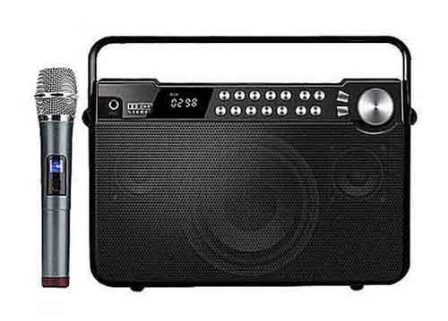Loa karaoke mini Shengyou SY-Q7, kèm mic không dây, RMS 50W