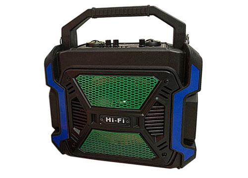 Loa karaoke mini TTD-9568, loa nhựa, kèm 1 mic không dây