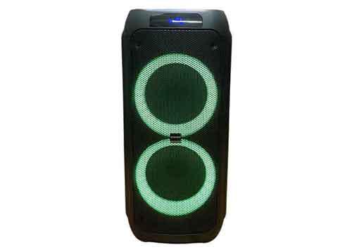 Loa karaoke Sansui A208-07, loa bass đôi 8 inch, RMS 100W