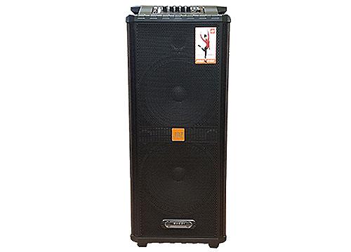 Loa kéo 2 bass JBZ JB+1012, loa karaoke di động, max 500W