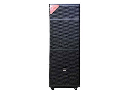 Loa kéo 2 bass Ruby R-15AX2, loa di động karaoke, RMS 500W